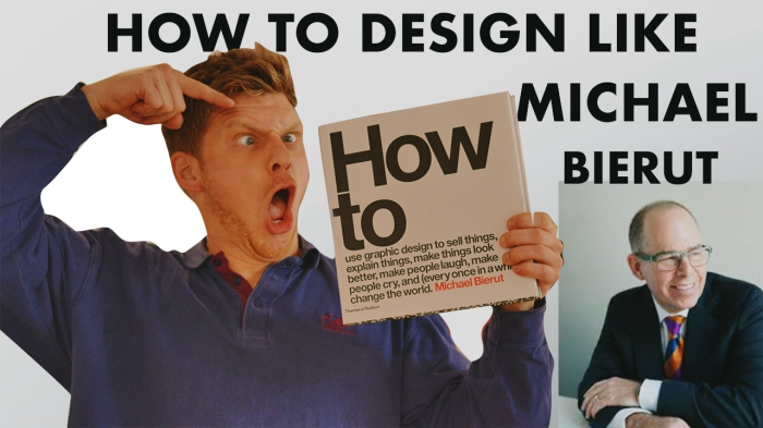 How to Design like MichaelBierut